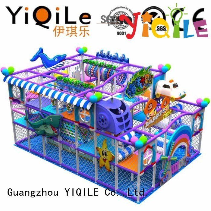 YIQILE Brand children commercial indoor play structures animal kid