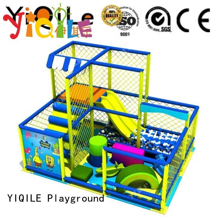 Hot commercial indoor play structures playground amusement prices YIQILE Brand