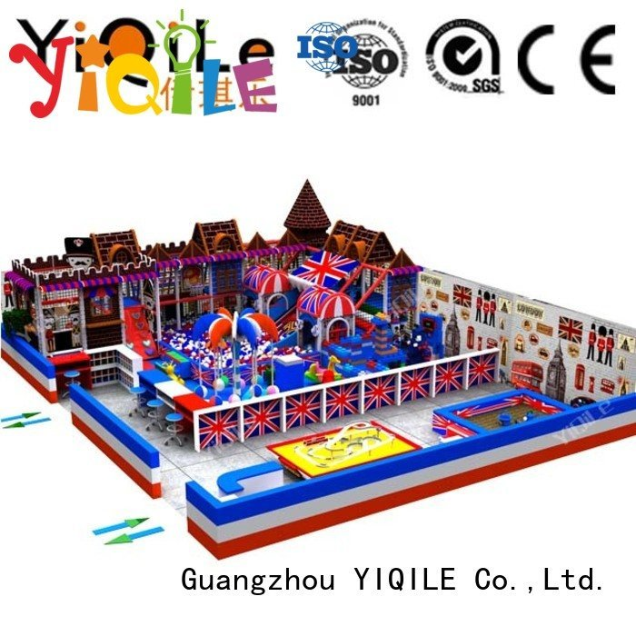 Quality commercial indoor play structures YIQILE Brand children indoor playground manufacturer