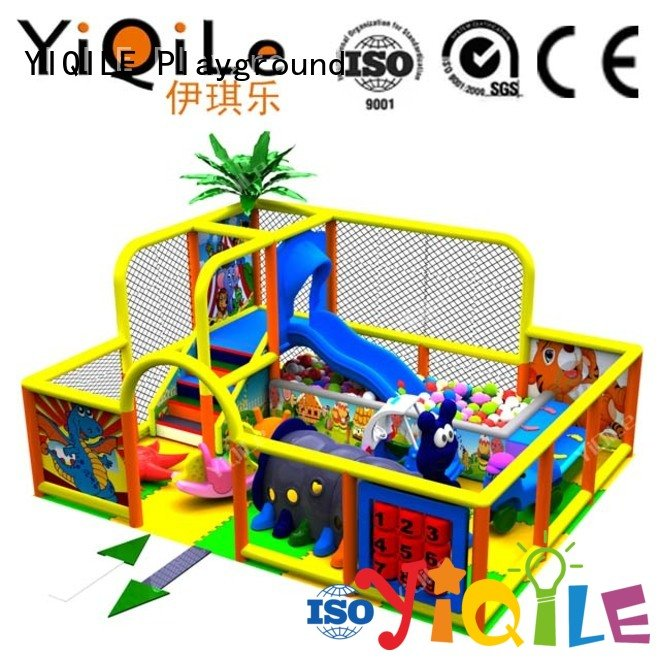 Hot commercial indoor play structures equipment adventure sale YIQILE Brand