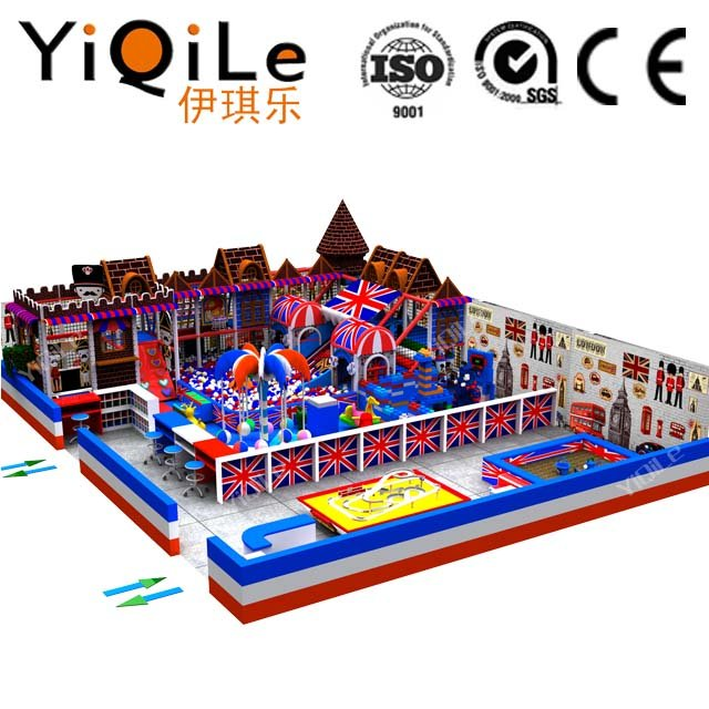 British style indoor amusement park equipment for children