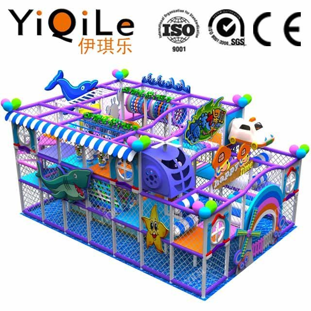 Kids indoor play equipment game zone