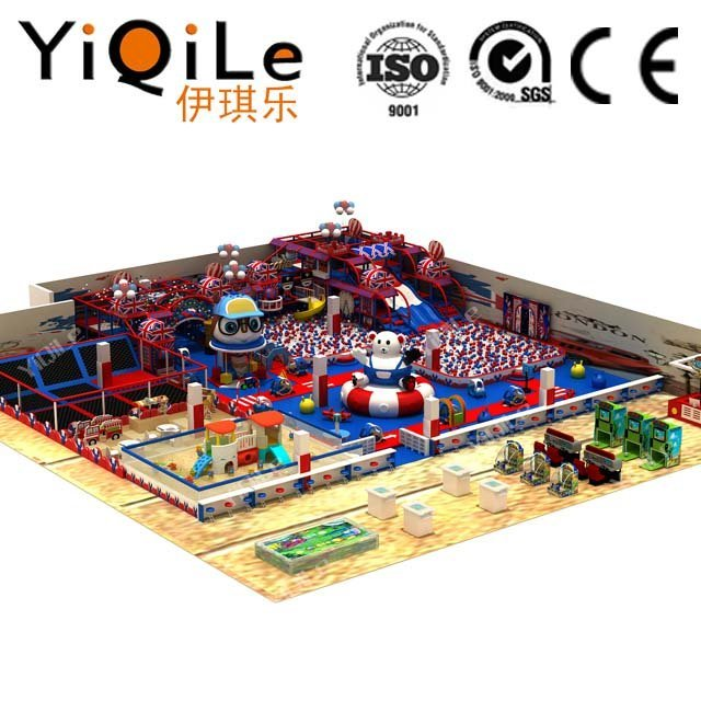 YIQILE indoor playground manufacturer adventure kid equipment animal