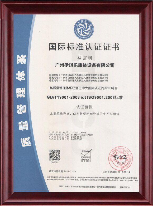 ISO9001 QUALITY MANAGEMENT