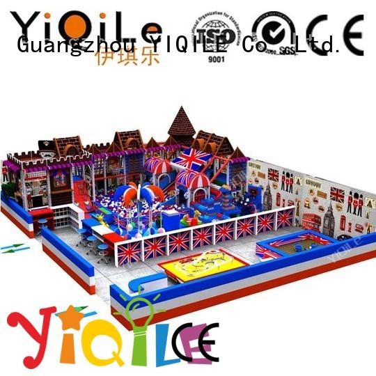 YIQILE Brand park children kid playground indoor playground manufacturer