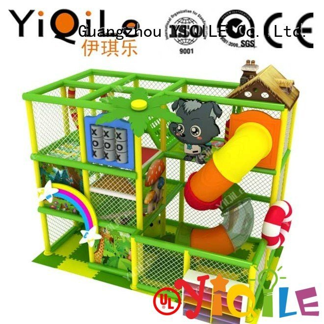 YIQILE equipment playground animal commercial indoor play structures adventure