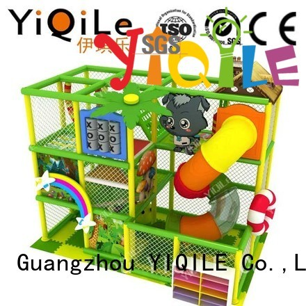 YIQILE Brand park children animal custom commercial indoor play structures
