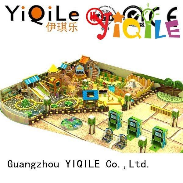 YIQILE Brand animal amusement indoor playground manufacturer equipment park