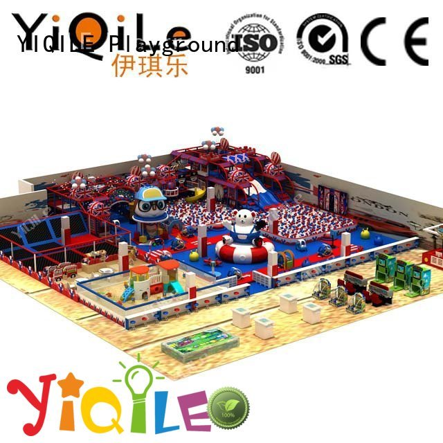 commercial indoor play structures playground YIQILE Brand indoor playground manufacturer