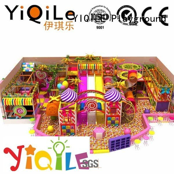 Quality commercial indoor play structures YIQILE Brand children indoor playground manufacturer indoor