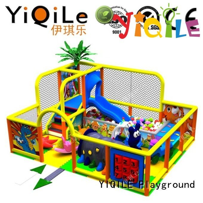 YIQILE Brand amusement children kid commercial indoor play structures