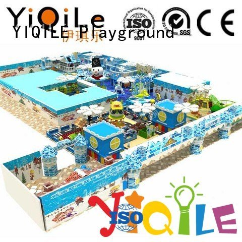 YIQILE Brand amusement children playground commercial indoor play structures