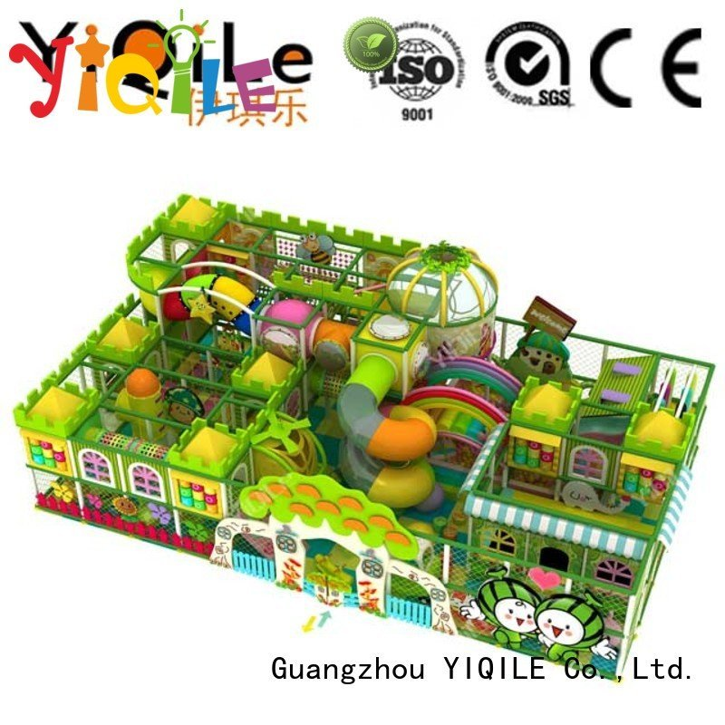 Quality commercial indoor play structures YIQILE Brand adventure indoor playground manufacturer