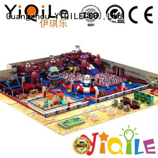 adventure kid animal YIQILE indoor playground manufacturer