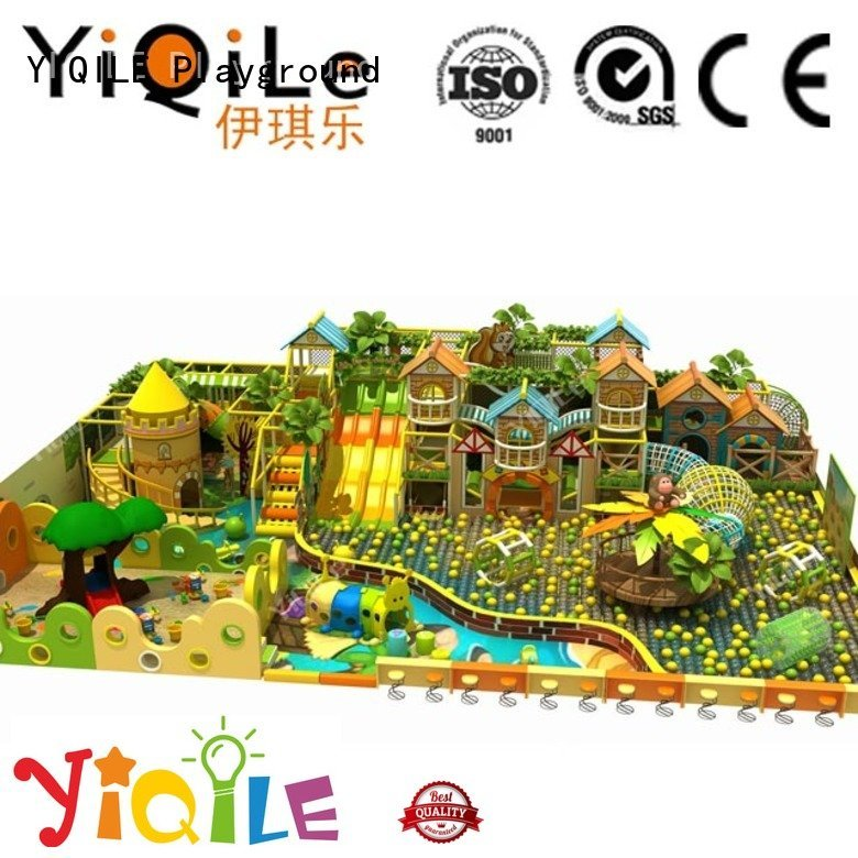 equipment indoor playground manufacturer adventure amusement YIQILE