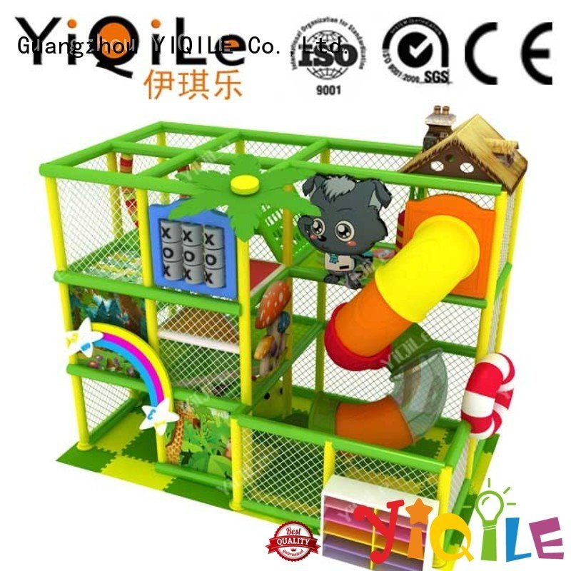 commercial indoor play structures animal park equipment YIQILE