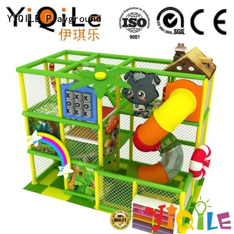 YIQILE amusement indoor playground manufacturer kid equipment