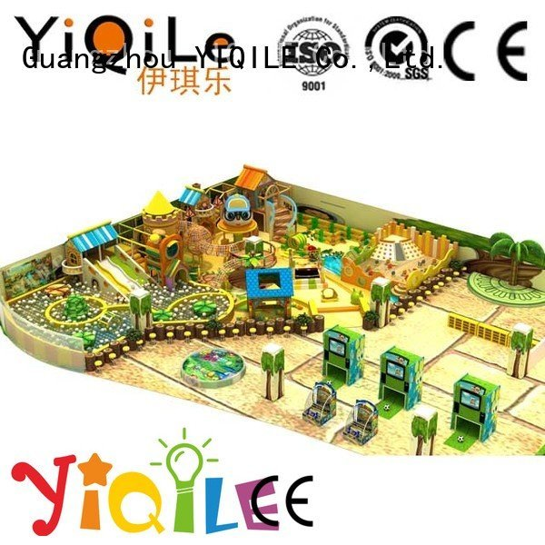 commercial indoor play structures amusement kid OEM indoor playground manufacturer YIQILE