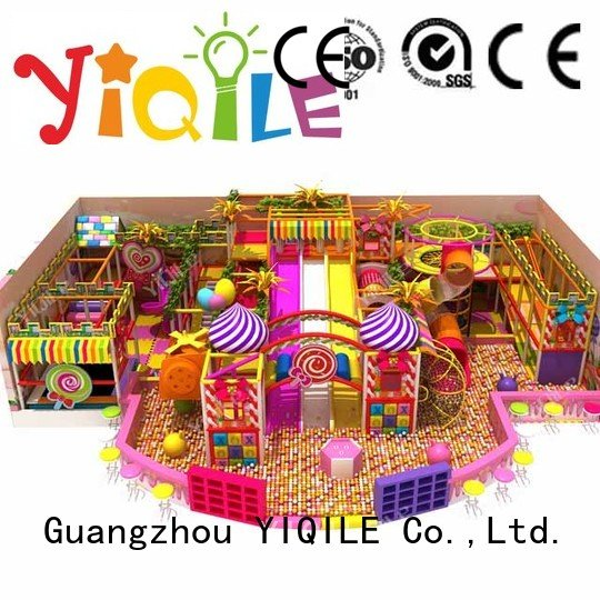 commercial indoor play structures adventure equipment OEM indoor playground manufacturer YIQILE