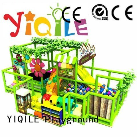 YIQILE amusement indoor playground manufacturer animal equipment
