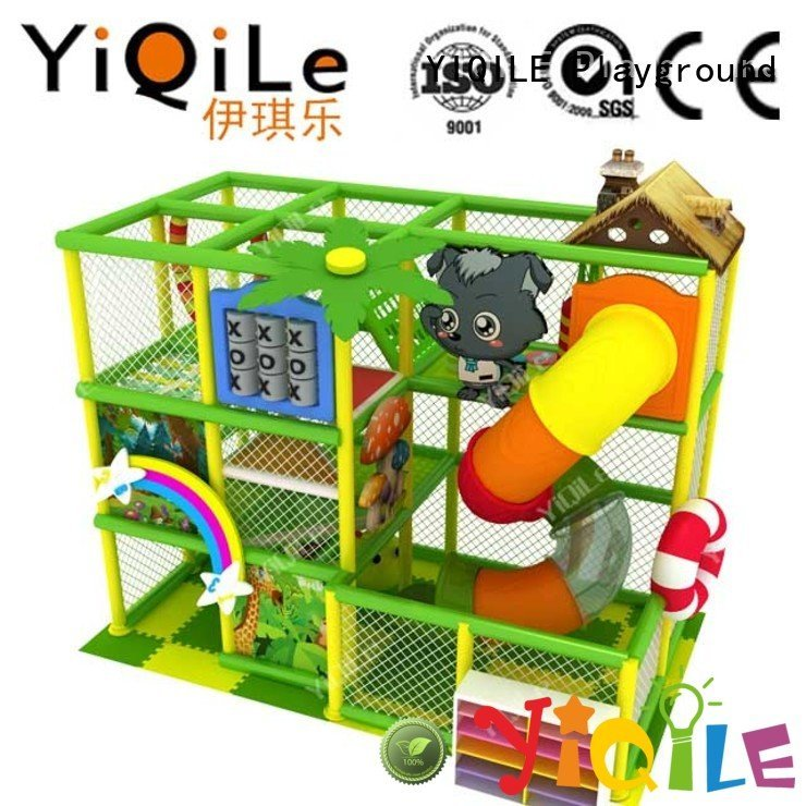 YIQILE Brand indoor animal commercial indoor play structures adventure park
