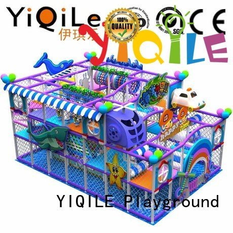 YIQILE Brand amusement equipment commercial indoor play structures prices sale