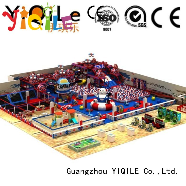 prices sale YIQILE Brand commercial indoor play structures factory