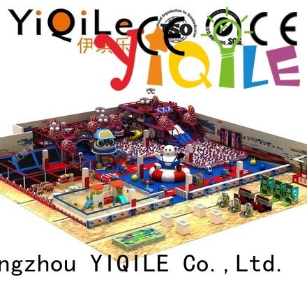 YIQILE playground animal amusement commercial indoor play structures indoor