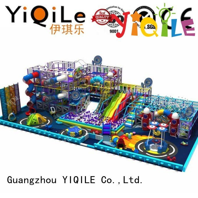 YIQILE commercial indoor play structures equipment playground kid
