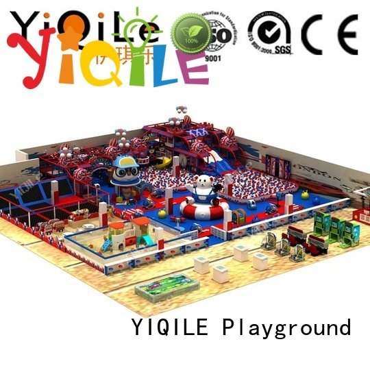 YIQILE commercial indoor play structures equipment animal indoor