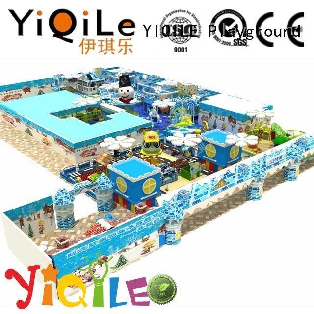 YIQILE Brand amusement playground park indoor playground manufacturer