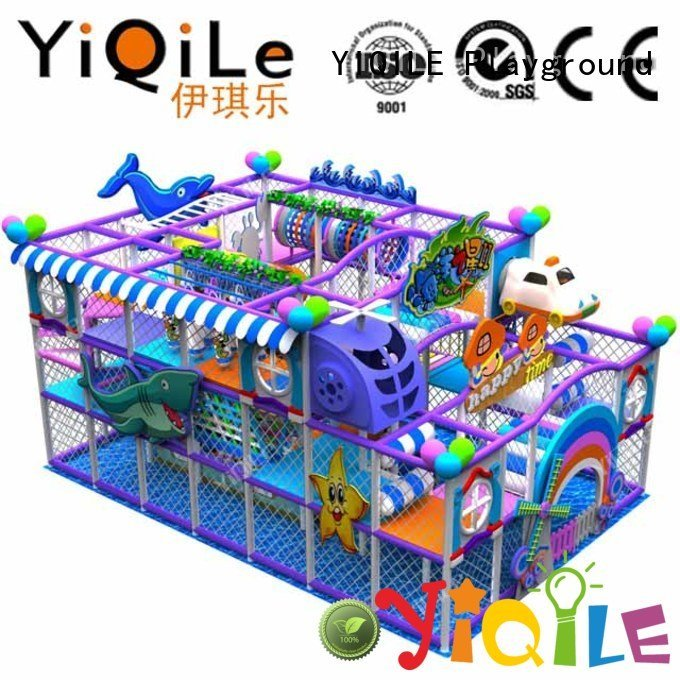 Hot commercial indoor play structures playground indoor playground manufacturer amusement YIQILE