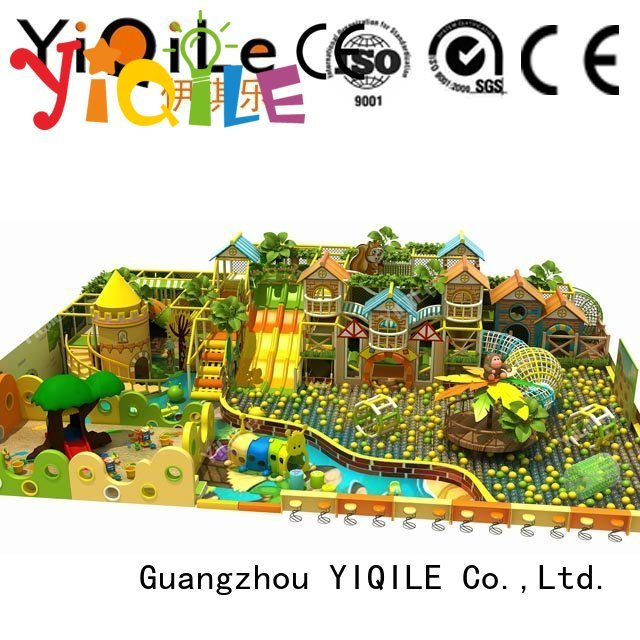 commercial indoor play structures playground park equipment YIQILE Brand indoor playground manufacturer