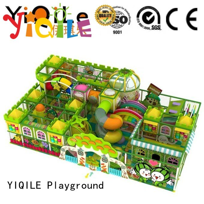 Hot commercial indoor play structures park adventure prices YIQILE Brand