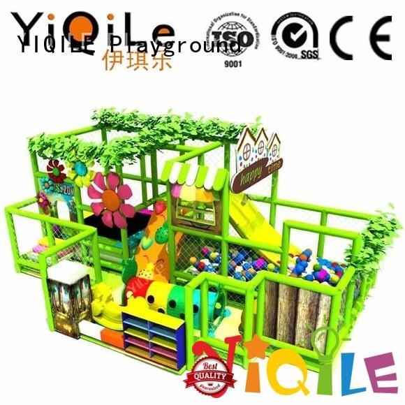 animal adventure equipment indoor playground manufacturer YIQILE
