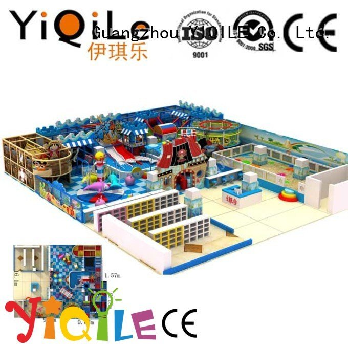 YIQILE Brand park equipment amusement commercial indoor play structures
