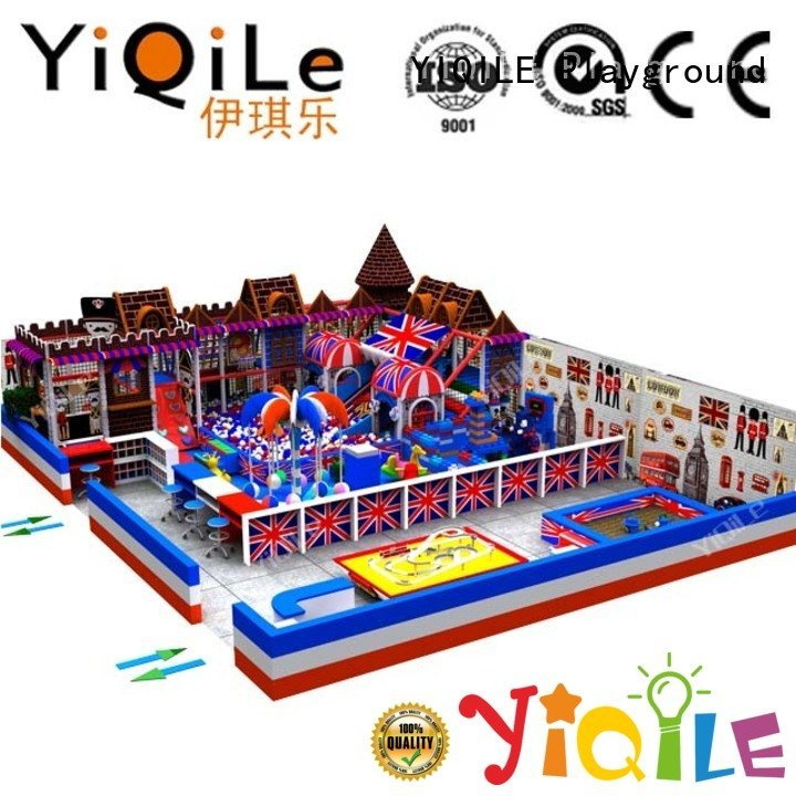 YIQILE indoor playground manufacturer playground animal indoor kid
