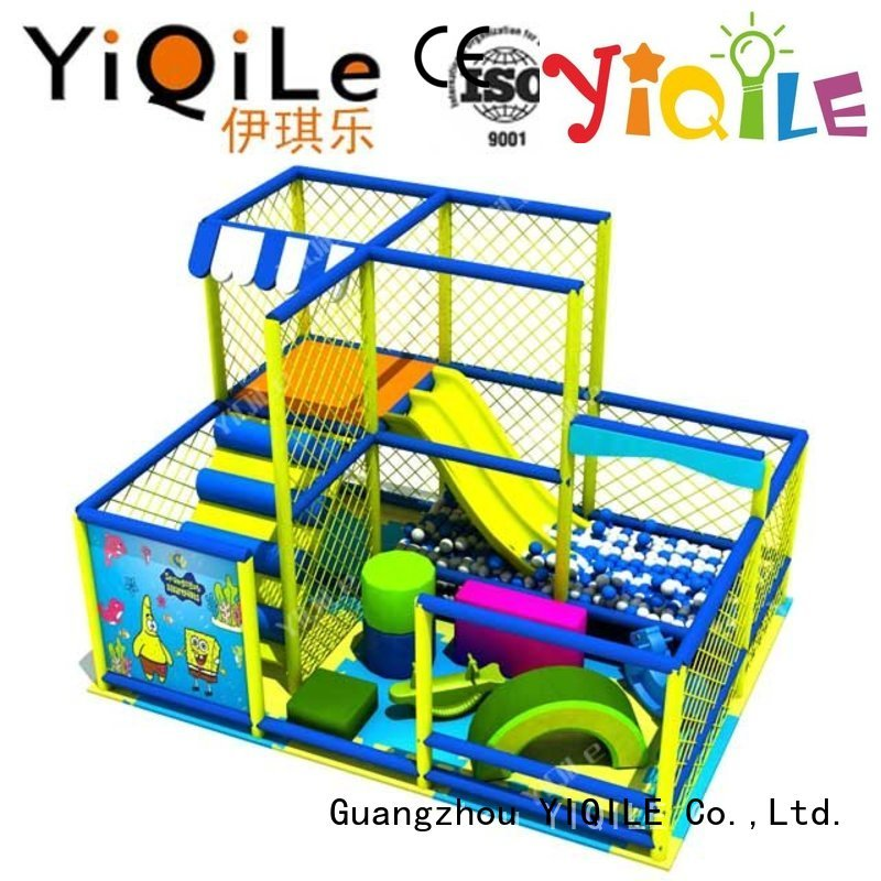 Quality YIQILE Brand commercial indoor play structures indoor