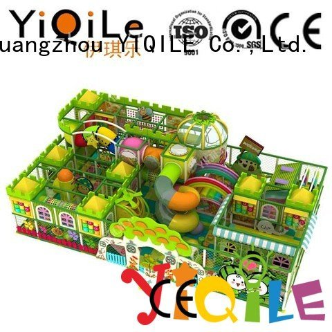 children indoor playground manufacturer YIQILE commercial indoor play structures