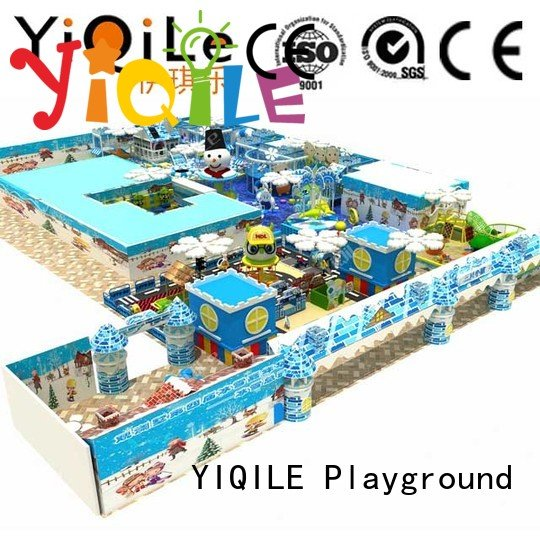 commercial indoor play structures indoor amusement indoor playground manufacturer YIQILE Warranty