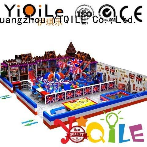 Custom indoor playground manufacturer animal park children YIQILE