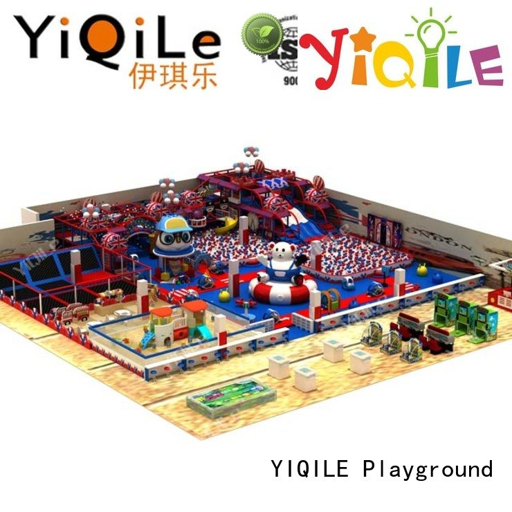 commercial indoor play structures sale prices indoor playground manufacturer YIQILE Warranty