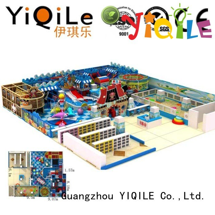 Hot commercial indoor play structures equipment indoor playground manufacturer sale YIQILE
