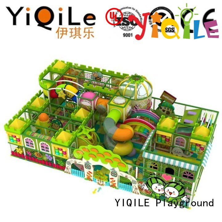 commercial indoor play structures amusement park indoor playground manufacturer children YIQILE Brand