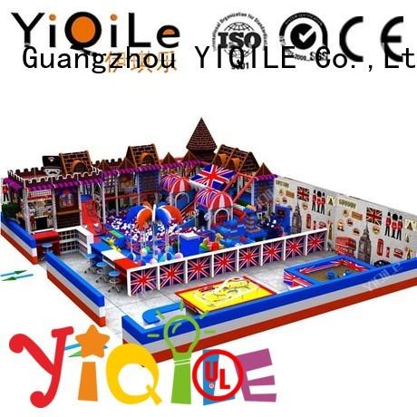 Hot adventure indoor playground manufacturer indoor children YIQILE Brand