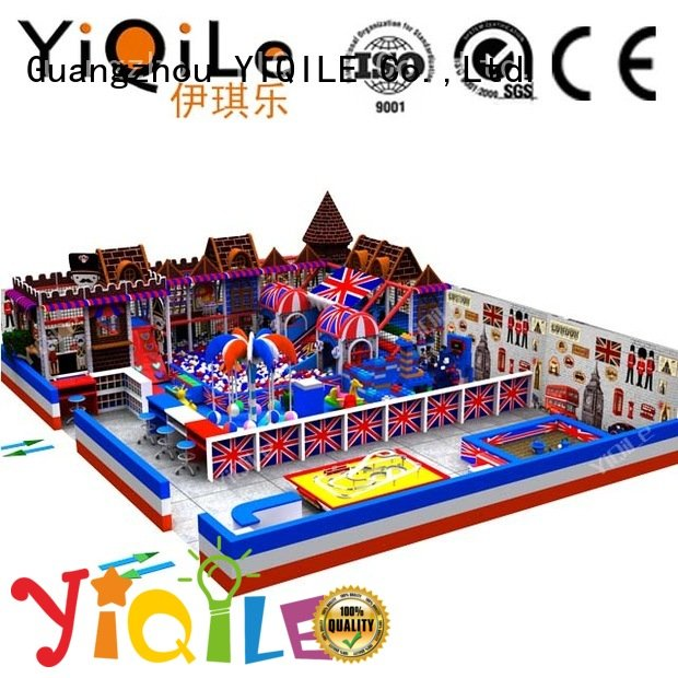 commercial indoor play structures kid children OEM indoor playground manufacturer YIQILE