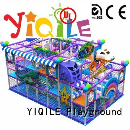 Custom indoor playground manufacturer animal equipment adventure YIQILE