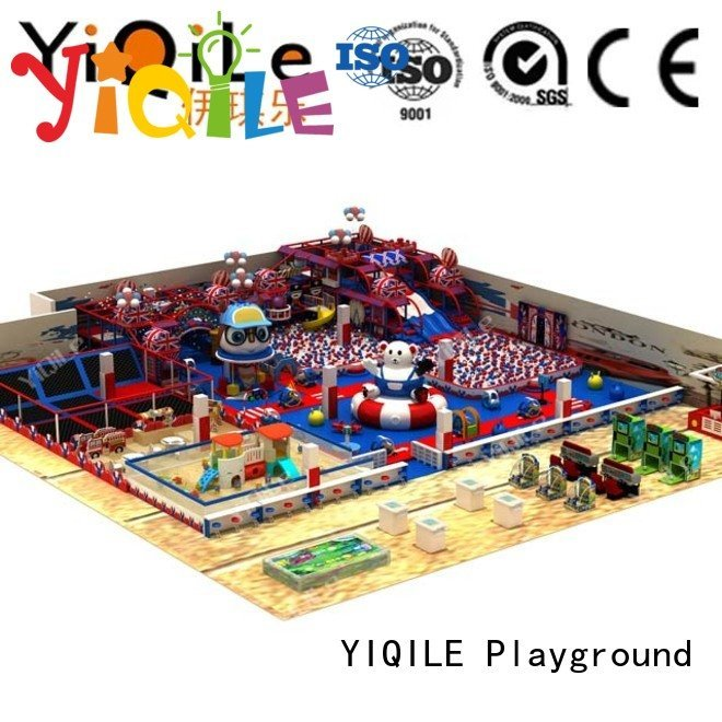 park amusement equipment commercial indoor play structures YIQILE