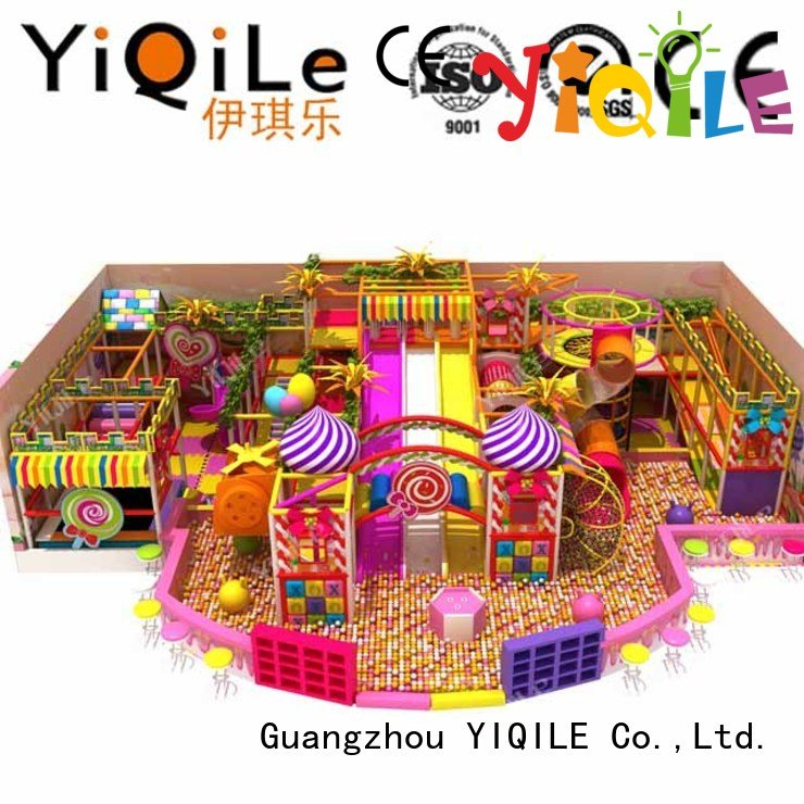 commercial indoor play structures kid sale OEM indoor playground manufacturer YIQILE
