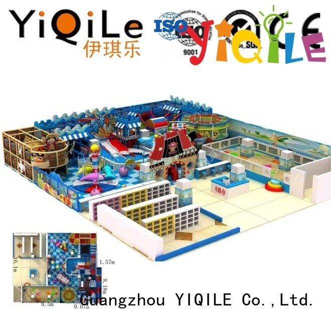 sale children commercial indoor play structures YIQILE